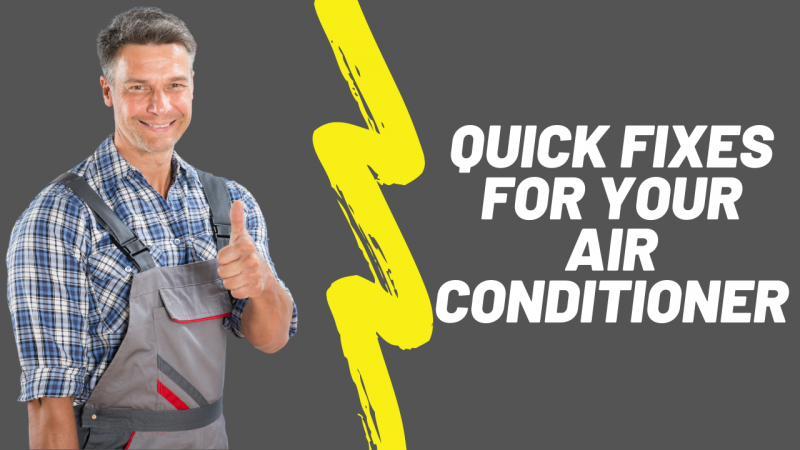 air conditioner quick fix guide